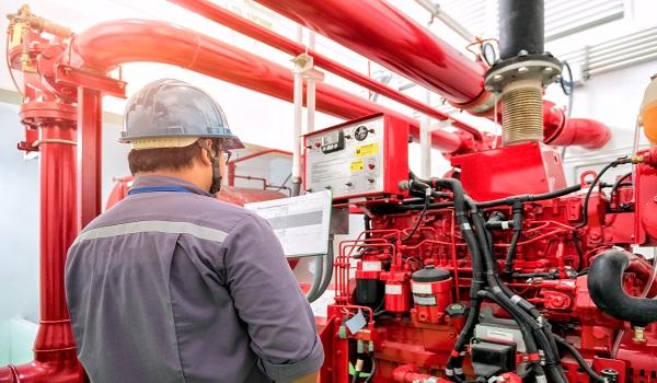 תחזוקה של מערכות כיבוי אש - מיגון אלקטרוניקה