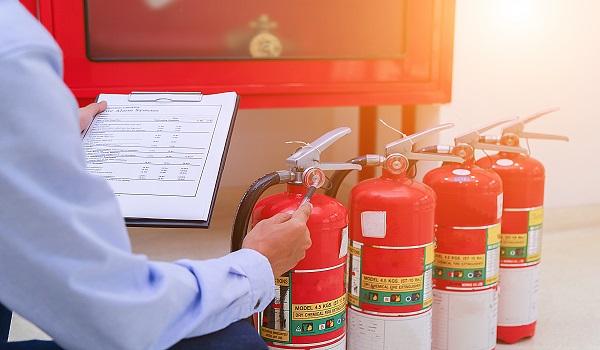בדיקת ציוד וכיבוי אש -מיגון אלקטרוניקה