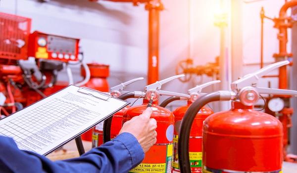 תחזוקת מטפים וציוד אש - מיגון אלקטרוניקה